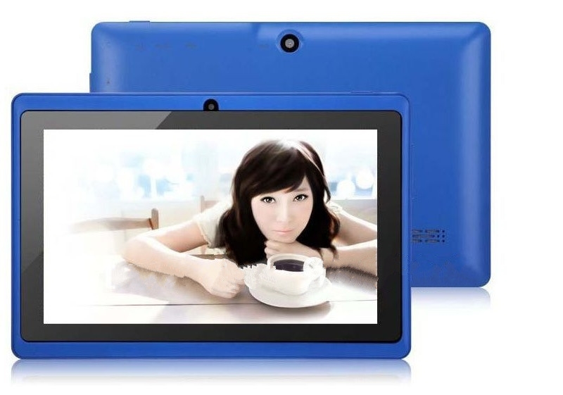 Quad Core 7 Inch Tablet Pc A33 Q88 III 6 Colors Android 4.4 RAM 512M ROM 4GB for Students Teenagers RED 6