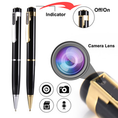 Professional Recording Mini-pen Super-long Recording MP3  Play High Definition Noise Reduction GOLDEN one size