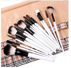 20 Pc Makeup Set Blush Powder Foundation Professional Cosmetic Brush Tool Eyeshadow Lip  M003 as the picture