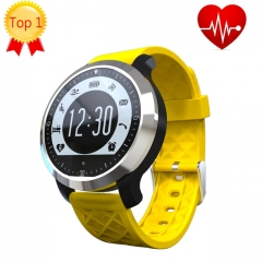 F69 Bluetooth Wrist Smartwatch for Android IOS Wearable Device Heart Rate Monitor Fitness Tracker black one size