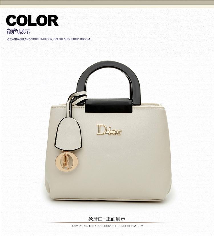 5b3d693ae165 Luxury fashion famous brand women handbag top quality pu bag biege 1 ...