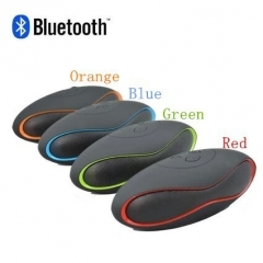 Mini Blutooth Boombox Wireless Speaker Portable Receiver Audio Radio FM Som Soundbar red