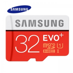 SAMSUNG Memory Card 32G SDHC SDXC TF80M Grade EVO+ MicroSD Class 10 Micro SD C10 UHS TF Trans Flash orange Micro SD 16GB