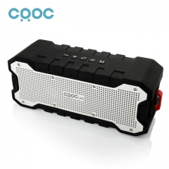 CRDC Bluetooth Speaker Outdoor Wireless Waterproof Speaker with Enhanced Bass Dual 5W Drivers / A2DP as the picture one size