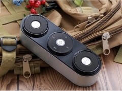 2.1 Channel Powerful Bass Wireless Stereo Bluetooth Speaker With Microphone FM Radio TF Card Play black one size