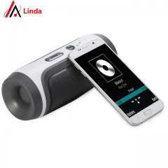 JY-3 Portable Wireless Bluetooth Loudspeaker Support U-disck TF Card with FM and Mic for All Phone grey one size