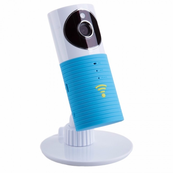 Mini Wireless baby monitor with camera Infant Baby video Security Two-way TOPS Audio Night Vision blue one size