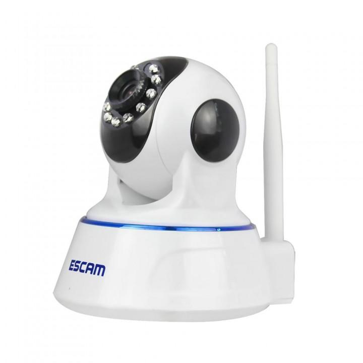 720P HD IP Camera IR-Cut Night Vision P2P Baby Monitor Audio Record Indoor Surveillance Camera white one size