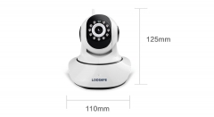 Wireless Pan Tilt IP Camera Wifi Night Vision Camera IP Network Camera CCTV Camera white one size