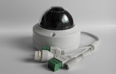 Hikvision Original English IP Camera dome poe cameras audio white one size