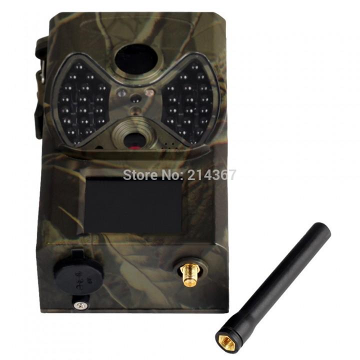 NO glow Trail Cameras MMS Hunting Cameras Trap Game Cameras Black IR Wildlife Cameras black one size