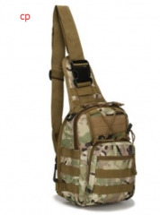 Tactical sling chest bag cp one size