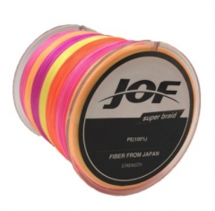 300m 8 Strands PE Fishing Line Braid X8 Multifilament Fish Wire Rope multi red 10 #