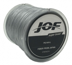 500m 8 Strands PE Fishing Line Braid X8 Multifilament Fish Wire Rope gray 8.0 #