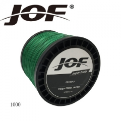 1000m 8 Strands PE Fishing Line Braid X8 Multifilament Fish Wire Rope green 1.0 #
