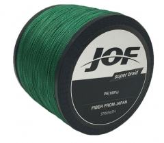 1000m 4 Strands PE Fishing Line Braid X4 Multifilament Fish Wire Rope green 1.0 #