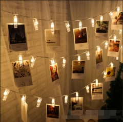 10 lightsstring folder string led light string christmas decoration light wedding decoration warm