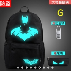 Anti-theft backpack Night Light Shoulder Bag Casual Bag USB Travel Bag g BIG SIZE