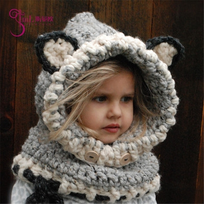 be302446dc7 Winter Warm Kids Children Baby hat Knitted hat boy girl cap gray small  size  Product No  1236456. Item specifics  Brand