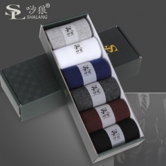 6 pairs/set Winter warm fashion cotton socks man 6 pairs /set free size free size