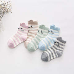 5 pairs/set Winter warm cotton socks baby kids  1-12 years old girls a s,1-3 years old