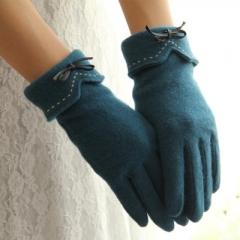 winter warm fashion elegant cotton gloves women a