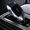 Brand New Bluetooth Car FM Transmitter Modulator Car mp3 Player Wireless Handsfree Music Audio Silver 1.1 inch