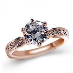 Zircon Engagement Rings for women Wedding rings female anel Austrian Crystals Jewelry top quality