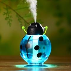 Ultrasonic Humidifier USB Car Humidifier Mini Aroma Essential Oil Diffuser Air Aromatherapy Mist blue 8.2*11.7 cm
