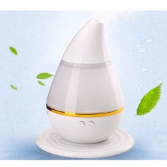 LED Light Color Changing Air Humidifier Aroma Diffuser USB Portable Ultrasonic Humidifier white 122x122x152mm