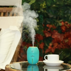Air Humidifier Essential Oil Aroma Diffuser Cool Mist Humidifier Home Fogger USB Car Humidifier blue 8*8*11.2cm