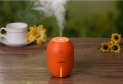Air Humidifier Essential Oil Aroma Diffuser Cool Mist Humidifier Home Fogger USB Car Humidifier Orange 8*8*11.2cm