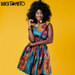 summer African dresses for women clothing printing sexy Multiple Wear method dress party dresses s as picture