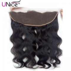 13×4 Lace Frontal Closure Body Wave Brazilian Remy Human Hair 10-22inch black 18 inch