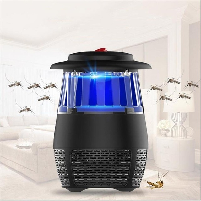 5W USB Electronic LED Mosquito Killer Light Safety Mosquito Trap Insect Killing Lamp Night Light black 5W