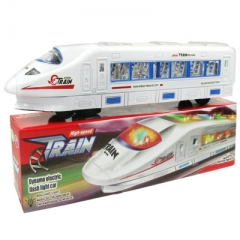 Universal Electric Flash High Speed Train of City Model toys vehicle for children  High Simulation as picture 32.5*5.2*6.2 cm