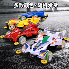 New assembly electric toy car Four-Wheel Drive Racing Car Kids Electric Car Toys without Batteries random color 14.5*9*4 cm