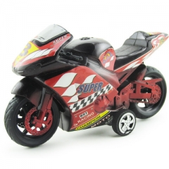 Simulation inertia motorcycle toy car Children plastic model toys car for children toy red 20*6*11.5 cm