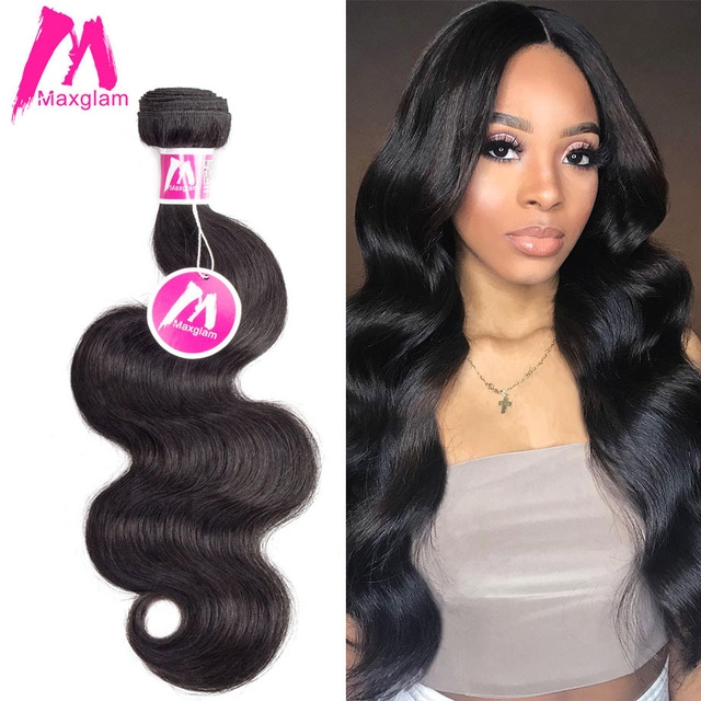 3bundles 50g/pc Brazilian Hair Body Wave Hair Weft Hair Extensions black 28+28+28 inches