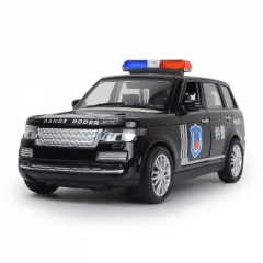 1:32 Toy Car X6 Police Metal Toy Alloy Car Diecasts & Toy Vehicles Car Model Car Toys For Children black 15*6.5*5 cm
