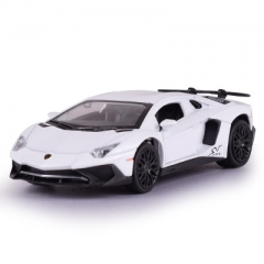 High Simulation Dicast Car Model Alloy Racing Car Toys For Children Toys Collection white 15.5*7*4 CM