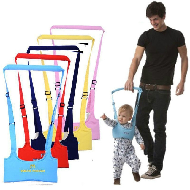 Cute Baby Toddler Toddler Safety Harness Assistant Walk Learning Walking Baby Walk Assistant Belt pink one size