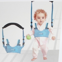 Baby steps with a dual-purpose breathable basket type cotton toddler products Baby Walking Belt random color one size