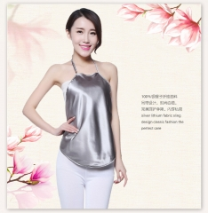 New can shield mobile phone signal maternity clothes silver fiber radiation protection apron Silver gray one size
