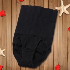 Seamless high waist postpartum body shaping body shaping pants triangle briefs black M/L