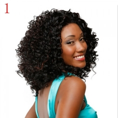 African black small wigs, foreign trade, Europe and America, ladies 1 as the picture