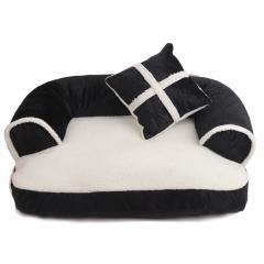 Kennel cat litter pet supplies autumn and winter warm pet nest dog pad black s