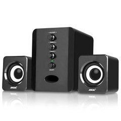 SADA d-202 desktop computer speaker notebook speaker cell phone usb 2.1 mini speaker subwoofer Bluetooth black
