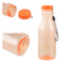550mL Plastic Bottle For Water Unbreakable Frosted Leak-proof Plastic Kettle Portable Water Bottle 5