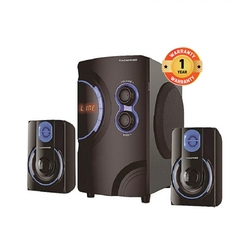 TAGWOOD MP-2176 Multimedia Speaker System 2.1 with Bluetooth,FM Radio Black PMPO: 5500W black 5500w MP-2176